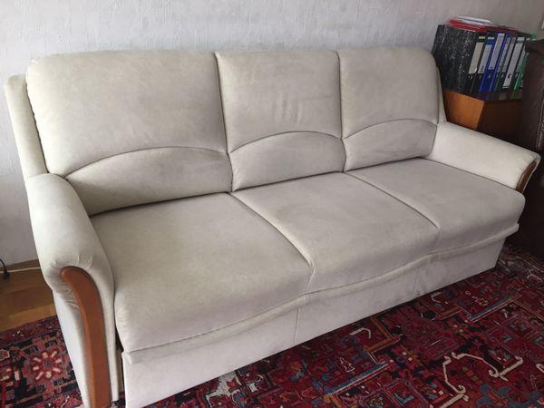 Sitzgarnitur Polstergarnitur 32 Sofa Schlaf Couch Hocker In