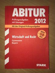 Abitur 2012 Bayern Wirtschaft u