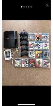 Playstation 3 mit viel Zubehör