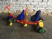 Dreirad für zwei Kleine
