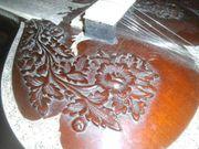 Alte Sitar aus Indien