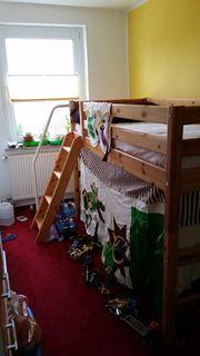 Flexa mittelhohes Bett mit schräger