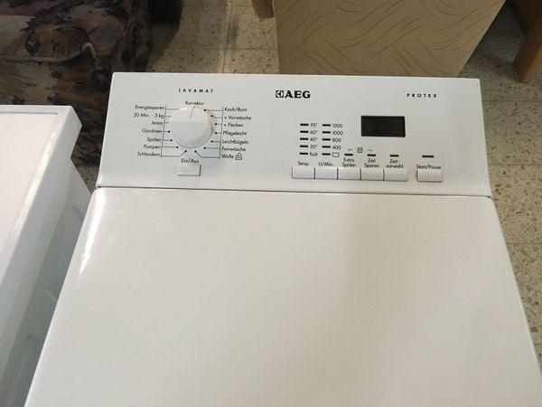 Waschmaschine toplader aeg preisfuchs in
