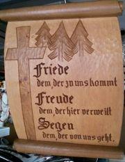 Schwarzwälder Holzbild geschnitzt