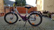 Kinder Mädchen Alu Fahrrad 20