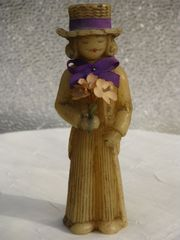 Seltene Antike Figur Kavalier mit