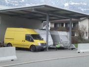 Unterstellplatz Carport Wohnwagen Anhänger LKW