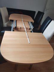 Esstisch mit 6 Stuhle
