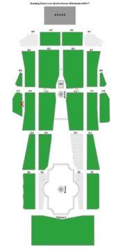 Elton John - Wiesbaden Block C5 Sitzplätze