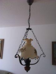 rustikale Lampe, Deckenleuchte