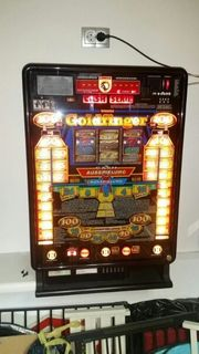 Geldspielautomat Typ Goldfinger