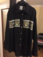 Versace Mondo Bazaar Hemd schwarz