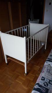 Gitterbett 120 x 60 cm
