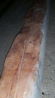 Massiver Holzbalken / Alter
