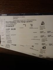 Tickets Gewandhaus Don