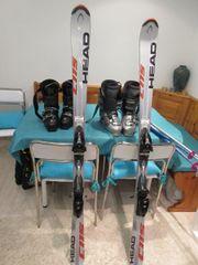 Ski; Skischuhe und