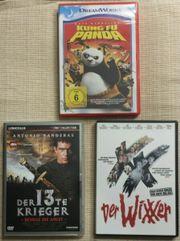 Drei DVDs