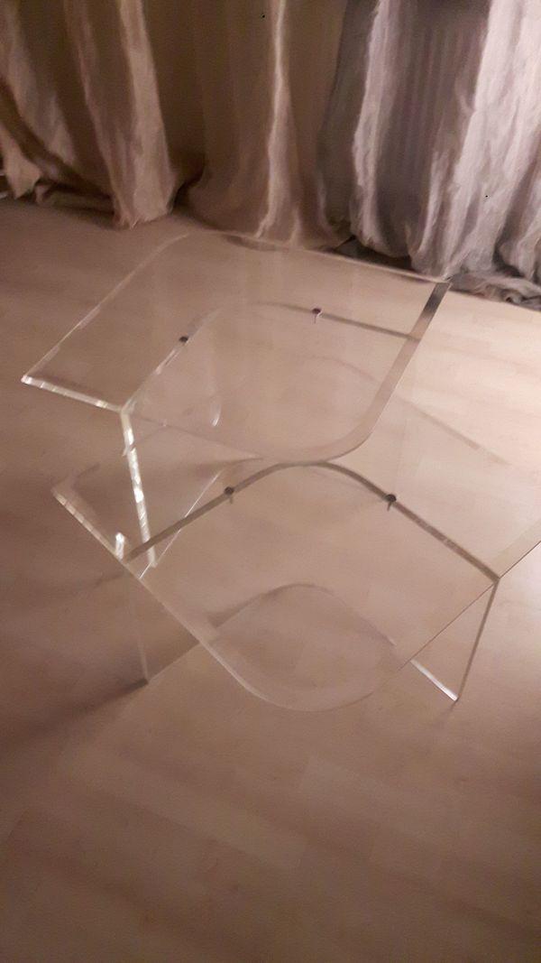 2 Satztisch Couchtisch Acrylglas Plexiglas In Frankfurt
