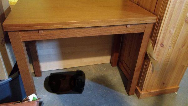 Ikea Bjursta Esstisch Küchentisch, braun, ausziehbar, gut bis sehr ...