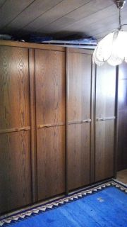 Schrankwand, Klappbett, Schlafzimmer,