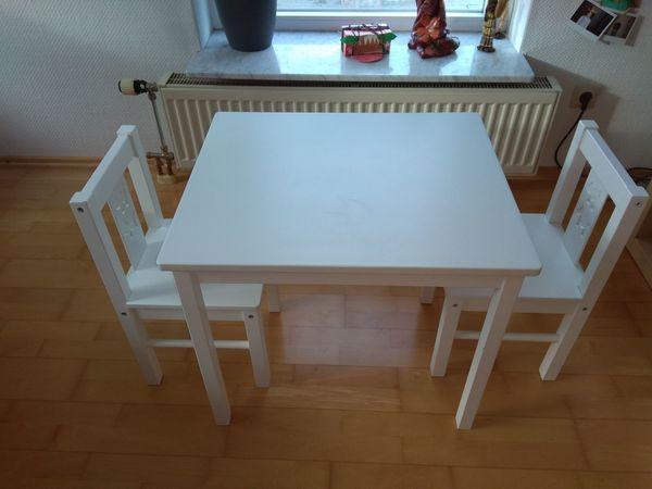 Kintertisch mit zwei Stühlen - Ikea Kritter gebraucht kaufen  69226 Nußloch