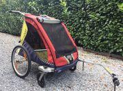 Kiki Fahrradanhänger für zwei Kinder
