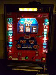 Geldspielautomat Jubi 100,