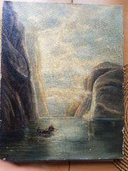 verkaufe eine alte Gemälde