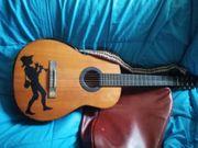Gitarre aus massiv Tonholz