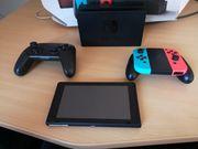 Nintendo switch mit 4 Spiele
