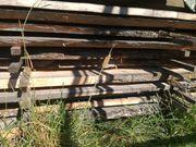 Eschenholzbretter getrocknet