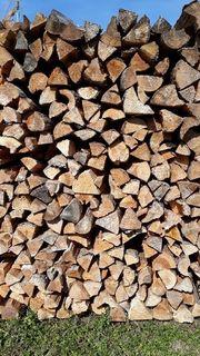 Brennholz ofenfertig luftgetrocknet
