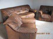 Leder Couch Sofa +