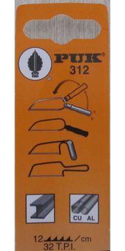 PUK-Metallsägeblätter Type 312 NEU 12