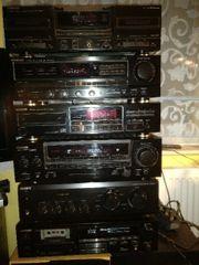 Kenwood Stereoanlagen 8 Teile mit