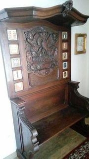 Traumhafte Truhen Sitzbank von 1735