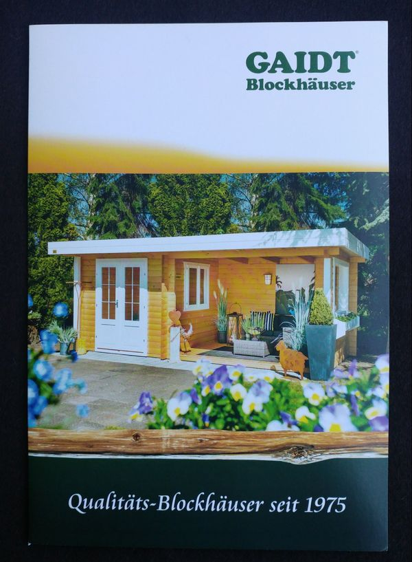 Verkaufe Gutschein über Original Gaidt Gartenhaus Typ G1 Wert EUR