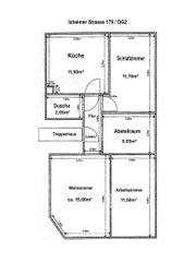3-Zimmer-Wohnung besonders für WG-StudentInnen