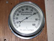 Präzision Hygrometer Durotherm 14cm Luftfeuchtigkeit