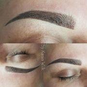 Permanent Make up Ombre Technik