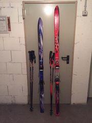 2 paar Alpin-