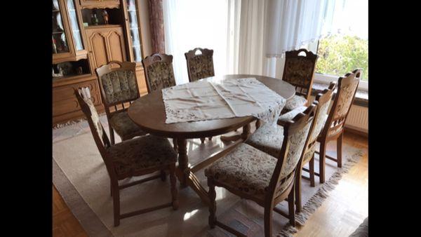 Esszimmertisch 8 stuhlen gebraucht kaufen nur 3 st bis 65 g nstiger - Esszimmertisch mit stuhlen ...