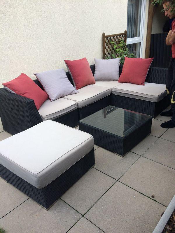 lounge rattan gebraucht kaufen nur 3 st bis 70 g nstiger. Black Bedroom Furniture Sets. Home Design Ideas