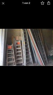 Leitern in Verschiedenen Größen