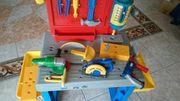 Kinder Werkbank Säge Werkzeug Bohrmaschine