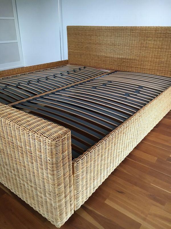 rattan bett kaufen rattan bett gebraucht. Black Bedroom Furniture Sets. Home Design Ideas