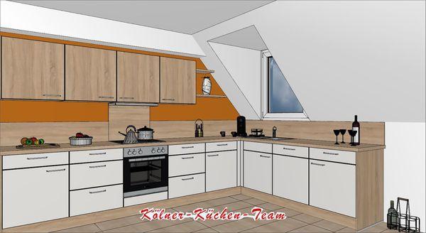 Küche 370 | Kuche Von Nobilia 370 X 250 Cm Individuell Planbar In Koln