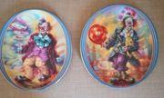 Porzellan Wand Sammelteller