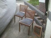 2 Holzstühle antik