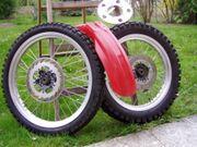 SACHS 125 ZX - Räder kpl